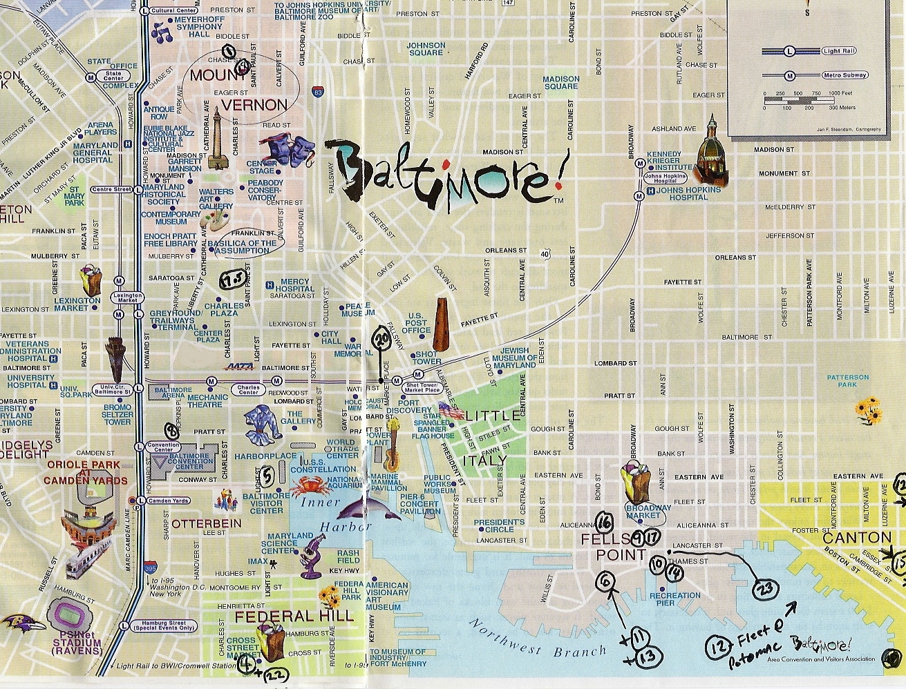 Brewtopia Events LLC Baltimore, Maryland Best Beer Places Downtown Map